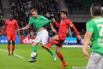 Robert BERIC / Jeremie BRECHET -  17.10.2015 - Saint Etienne / Gazelec Ajaccio - 10eme journee de Ligue1