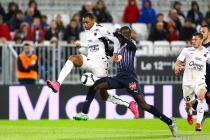 Ronny Rodelin / Cedric Yambere - 29.11.2015 - Bordeaux / Caen - 15eme journee de Ligue 1