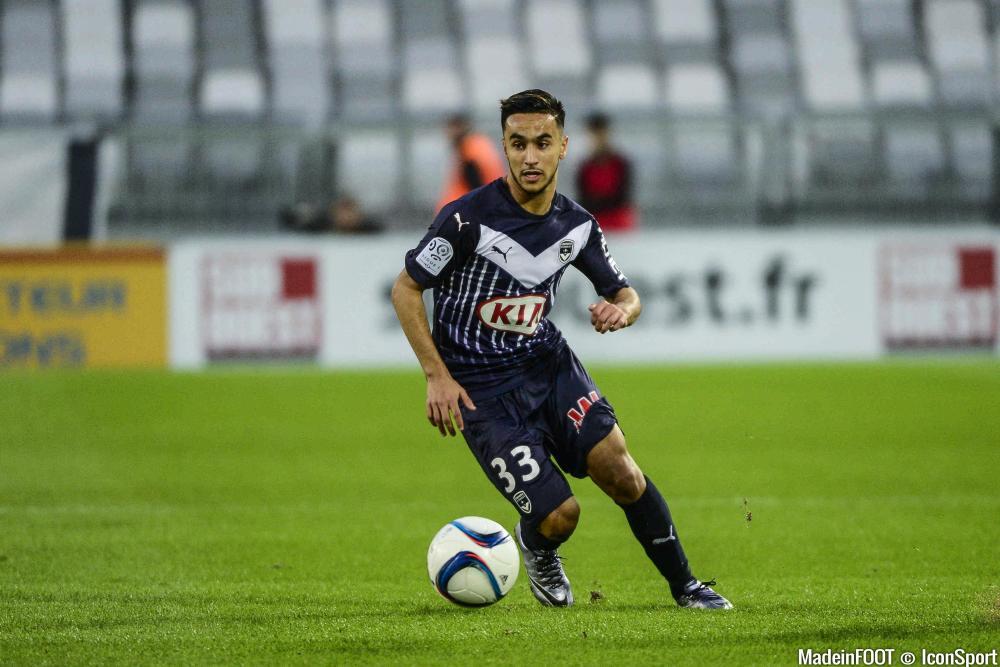 Adam Ounas s'est engagé jusqu'en 2019 en faveur des Girondins de Bordeaux.