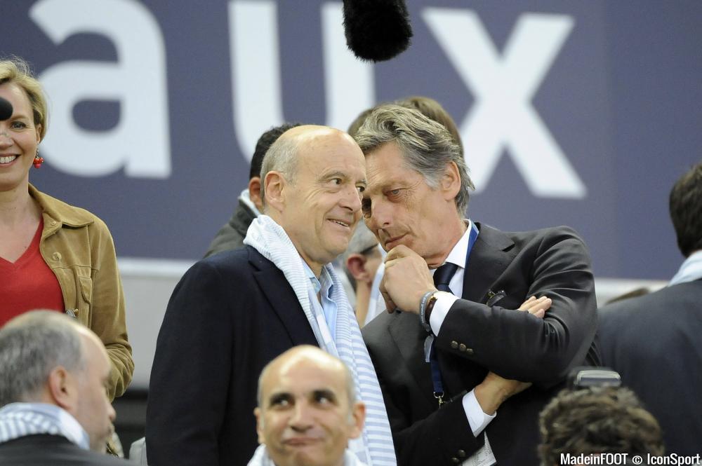 Alain Juppé déplore l'attitude des supporters bordelais.