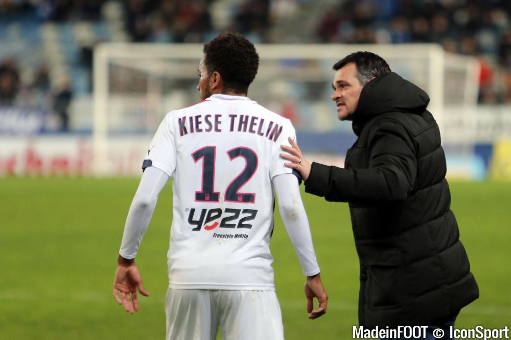 Kiese Thelin, l'une des rares satisfactions du match face à Reims.
