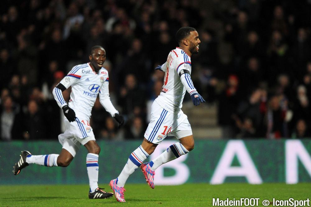 Lacazette est en en tête du classement des meilleurs réalisateurs de la Ligue 1.