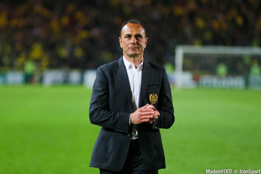 Der Zakarian (FC Nantes) attend une réaction de ses troupes en Gironde, samedi soir.