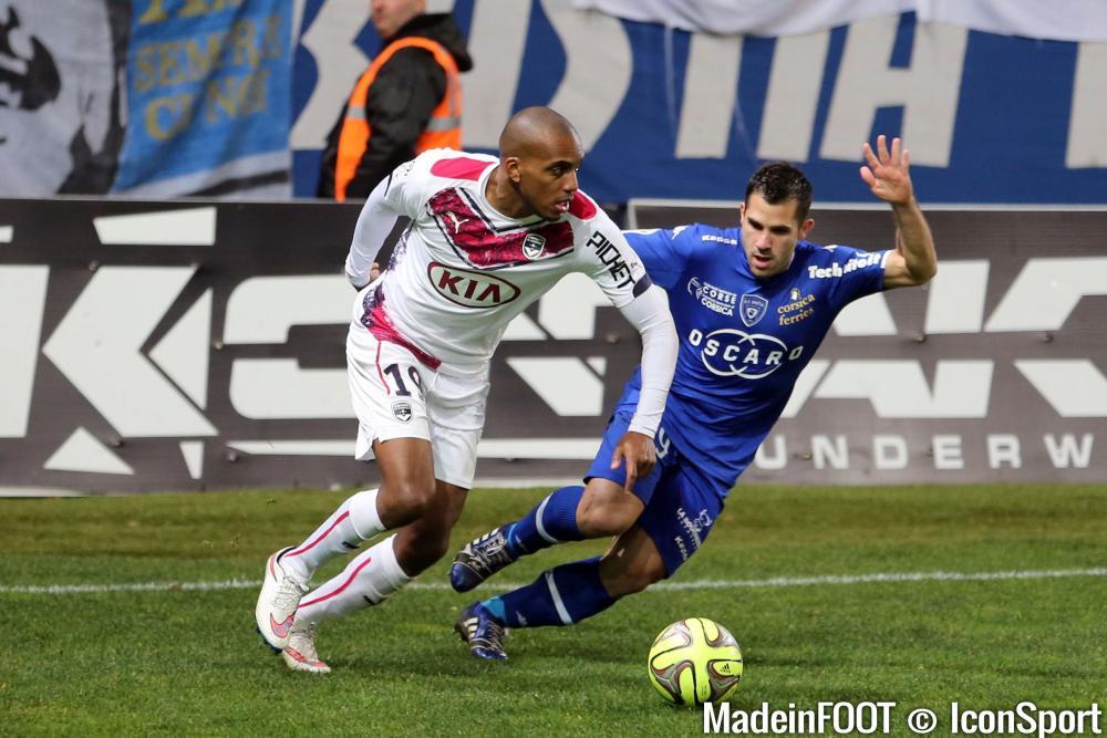 Maurice-Belay joue peu avec Bordeaux