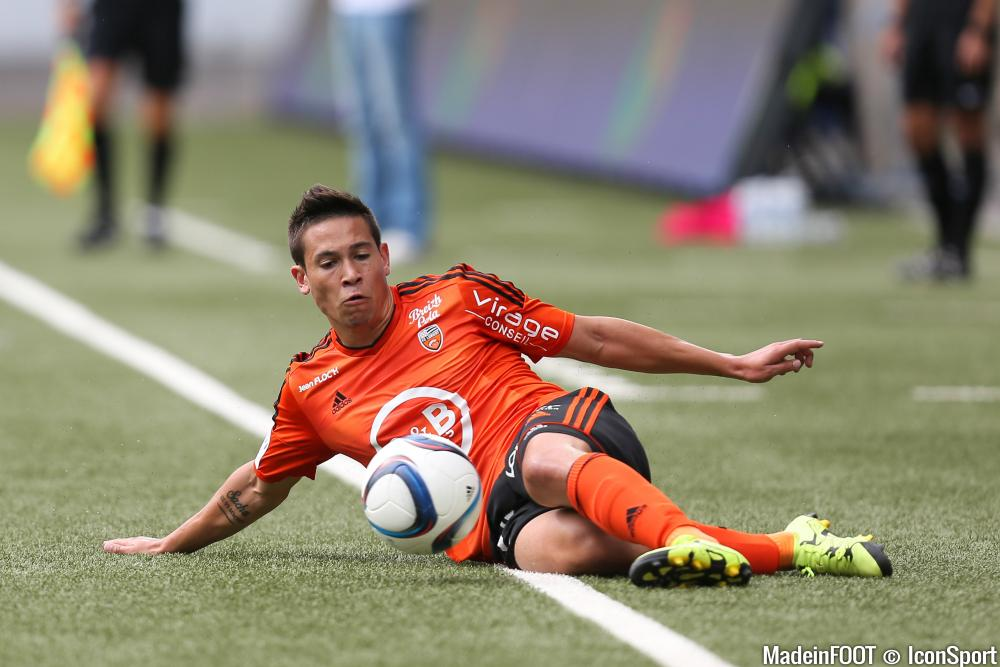 Raphaël Guerreiro manque toujours à l'appel du côté de Lorient.