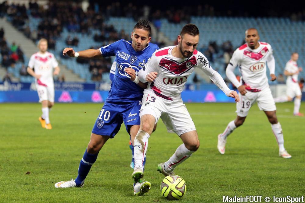 Les compos officielles du match entre le SC Bastia et les Girondins de Bordeaux.