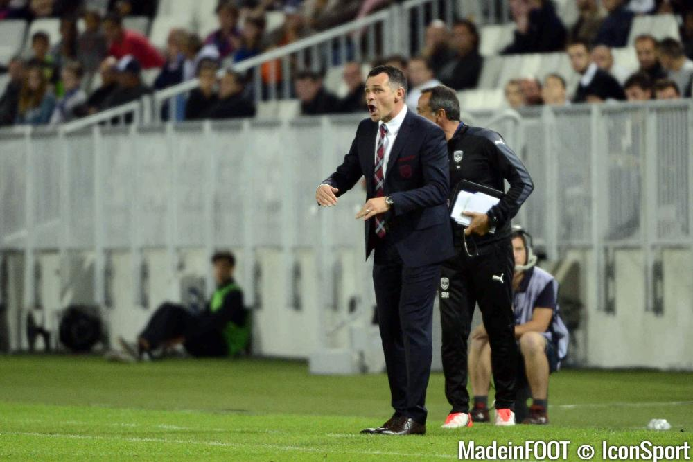 Willy Sagnol et les Girondins de Bordeaux doivent progresser dans de nombreux domaines.