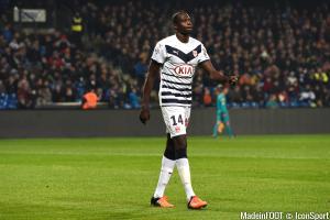 Cheick Diabaté quitte Bordeaux.