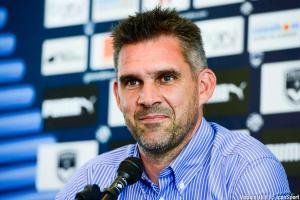 Jocelyn Gourvennec, l'entraîneur des Girondins