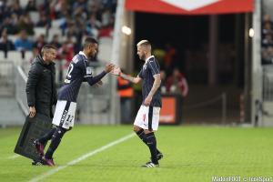 Jérémy Ménez (Girondins) va mieux et devrait être disponible pour défier le FC Lorient, samedi soir.
