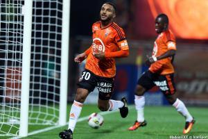 Le groupe du FC Lorient pour le déplacement à Bordeaux.