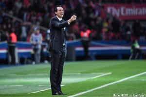 Unai Emery et le PSG se déplacent à Bordeaux, vendredi soir.