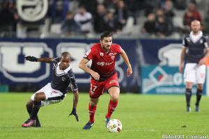 Diego Rolan (Girondins) va être sanctionné par son club.