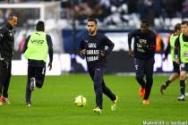 Adam Ounas / message pour Cedric Carrasso - 31.01.2016 - Bordeaux / Rennes - 23e journee Ligue 1