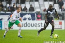 Cedric Yambere - 07.02.2016 - Bordeaux / St Etienne - 25eme journee de Ligue 1
