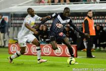 Cedric Yambere of Bordeaux during the Ligue 1 match between Bordeaux and Angers on 16th April, 2016