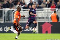 Ménez (Bordeaux) et Ciani (Lorient)