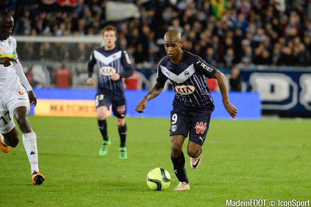 Diego Rolan (Girondins de Bordeaux) est apte pour le déplacement à Saint-Etienne.