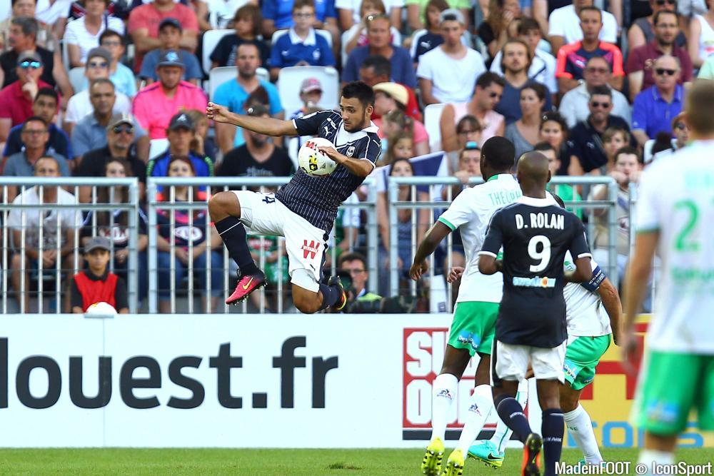 Les compos officielles du match entre l'ASSE et les Girondins de Bordeaux.