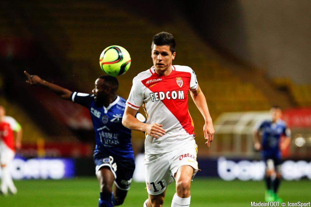 Guido Carrillo et Monaco ont chuté face à Bordeaux