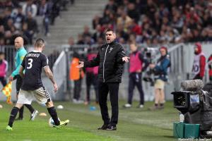 Jocelyn Gourvennec et Bordeaux se déplacent à Saint-Etienne, vendredi soir.