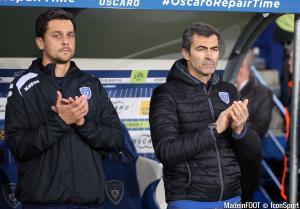 Le groupe du SC Bastia pour le déplacement à Bordeaux.