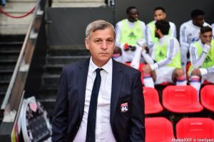 Bruno Genesio et l'OL accueillent Bordeaux, samedi après-midi.