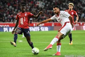 Auteur de 13 buts la saison dernière, Laborde (Bordeaux) n'est plus titulaire