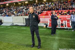 Le groupe de l'AS Monaco pour le match face aux Girondins de Bordeaux.