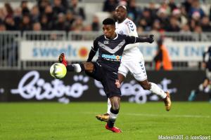 Jonathan Cafu quitte les Girondins de Bordeaux.