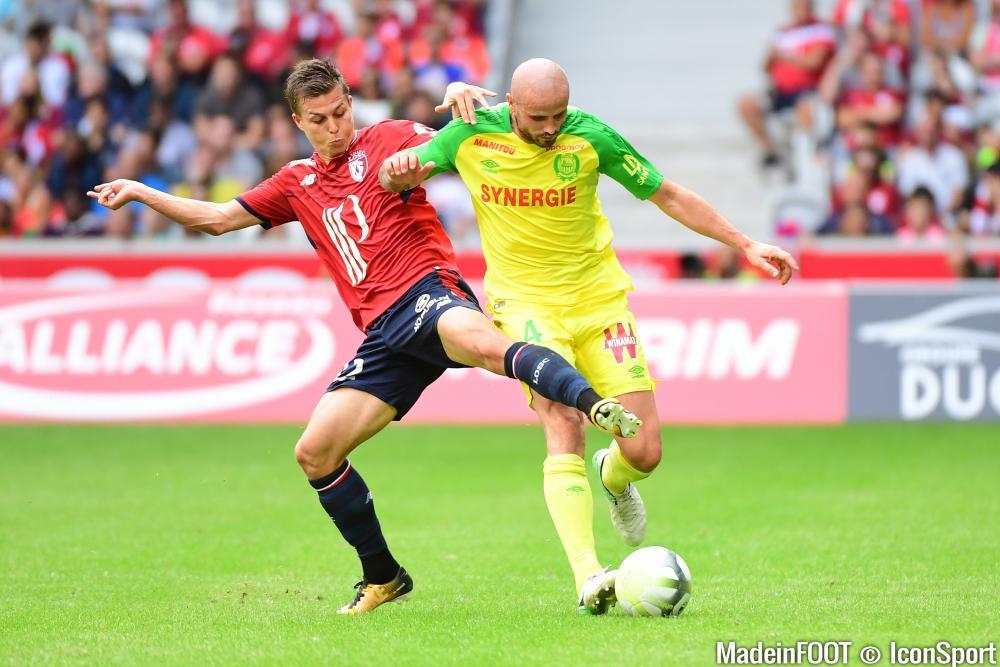 Nicolas De Préville (Lille OSC) s'est engagé en faveur des Girondins de Bordeaux.
