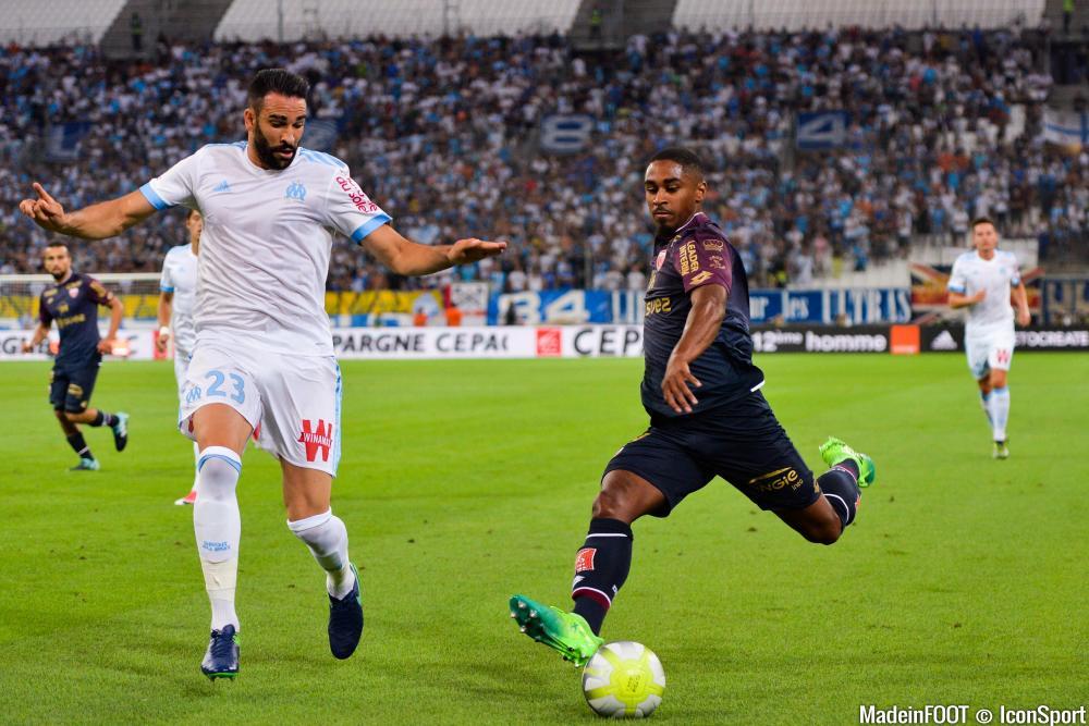 Wesley Saïd, l'attaquant du Dijon FCO.