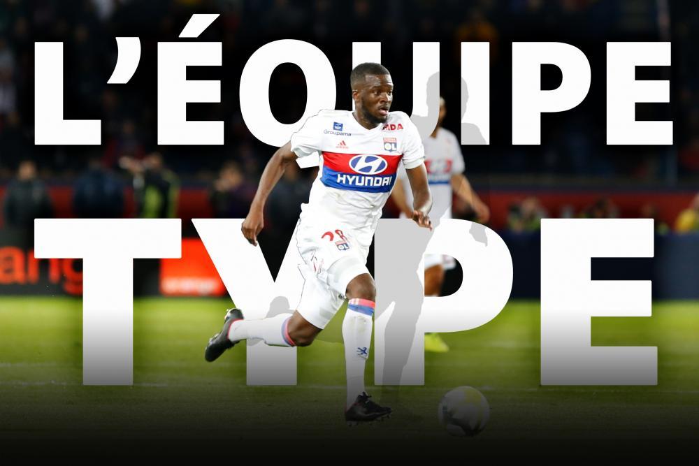 L'équipe-type de la 6e journée de Ligue 1.