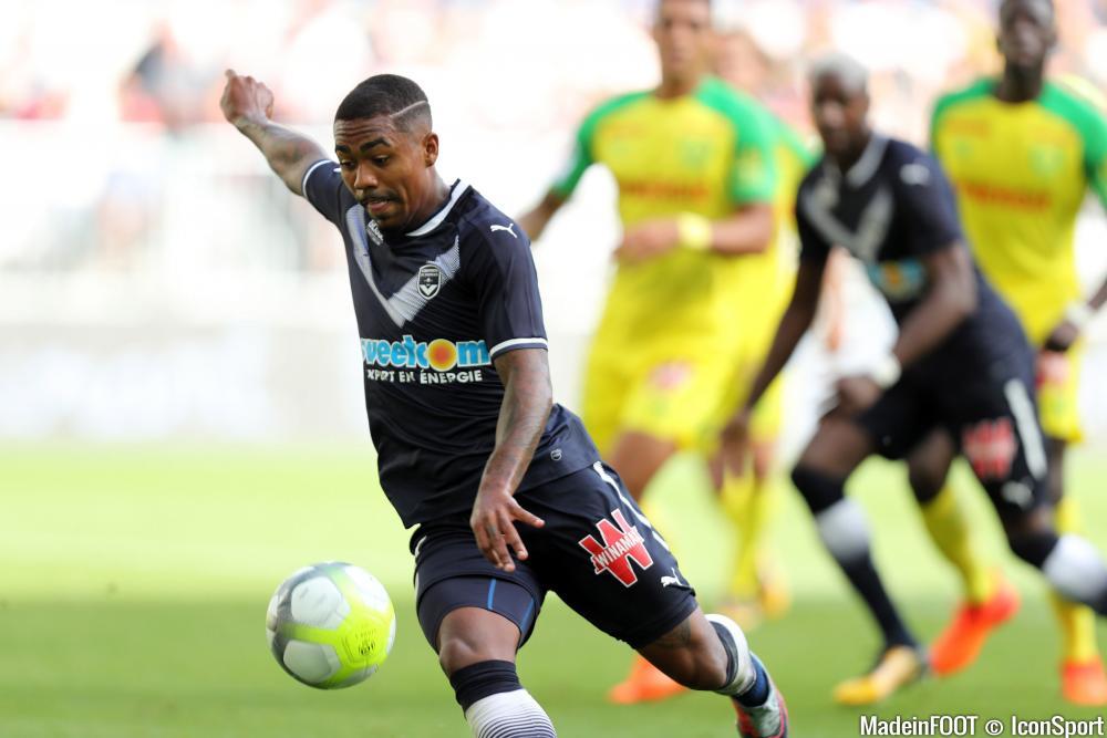 Malcom a fait le point sur son avenir, qui s'écrira loin des Girondins de Bordeaux.