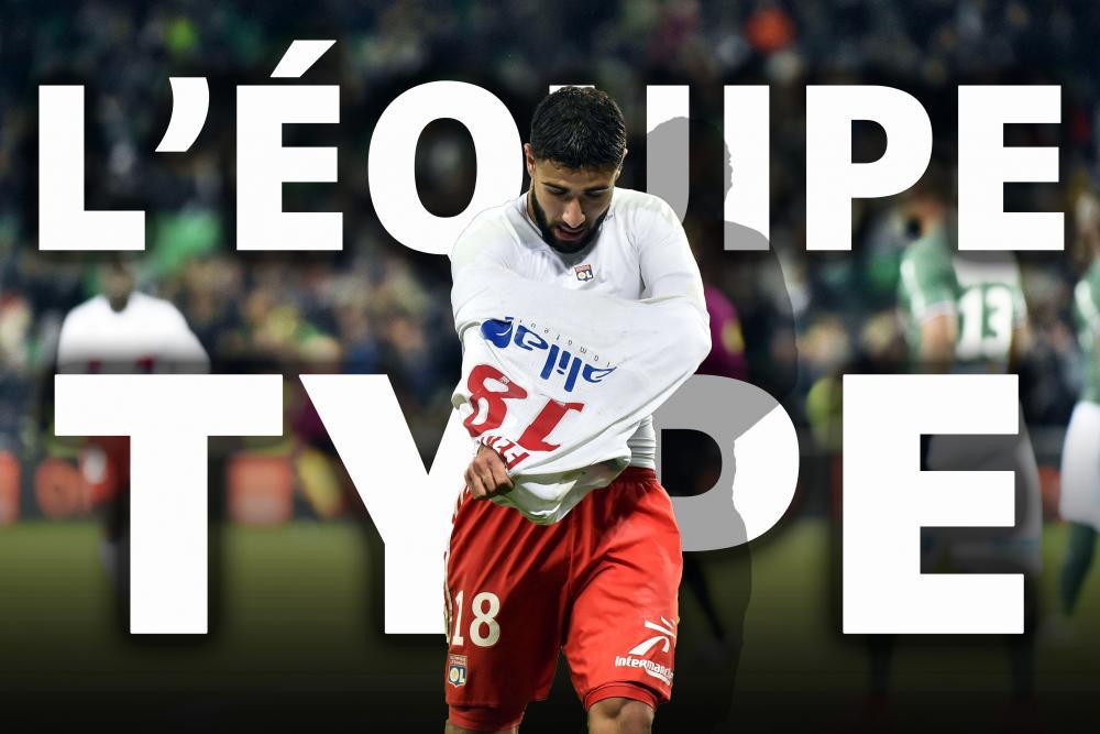 L'équipe-type de la 12e journée de Ligue 1.