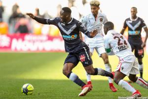 Soualiho Meïté (Girondins) a repris l'entraînement en milieu de semaine.