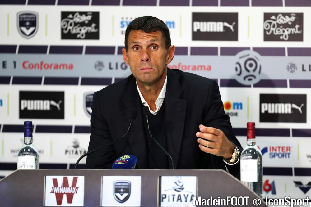 Gustavo Poyet (Girondins) était en conférence de presse, ce jeudi.