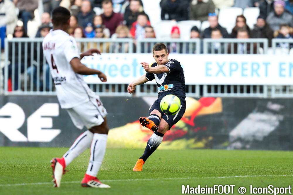 Nicolas De Préville (Girondins) pourrait intéresser l'EA Guingamp.