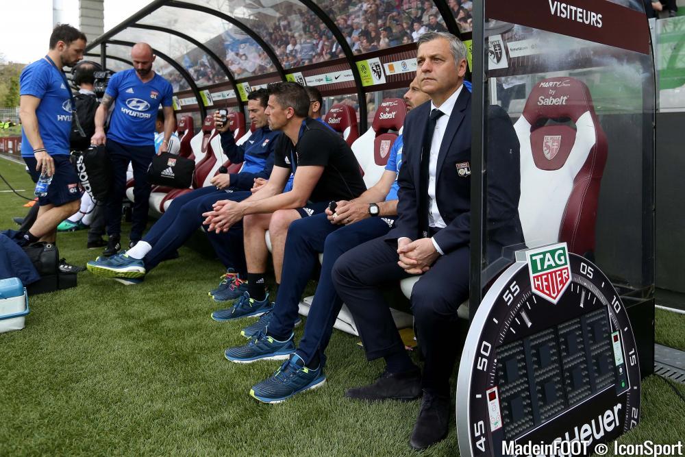 Bruno Genesio, l'entraîneur du Stade Rennais FC.