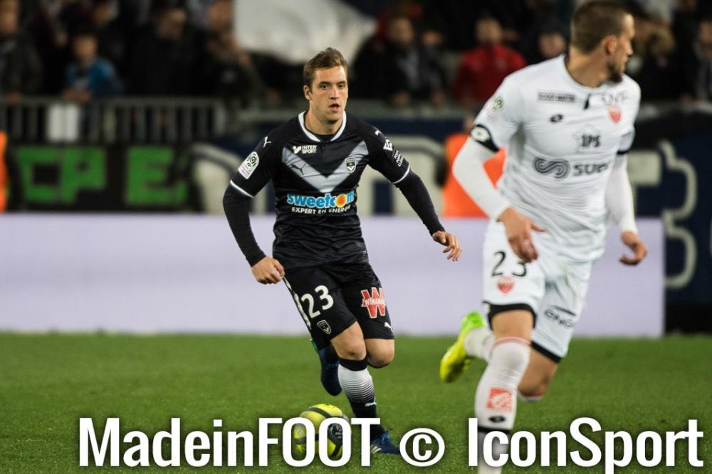 Valentin Vada quitte les Girondins de Bordeaux pour rejoindre Almeria.