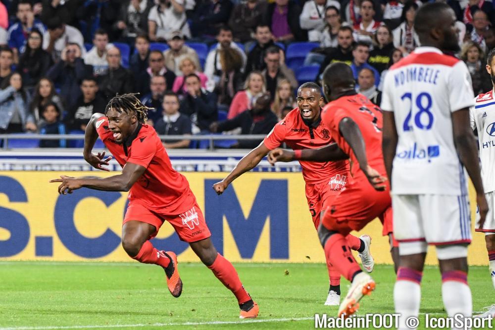 Allan Saint-Maximin (OGC Nice) devrait être de retour face au FCGB, samedi soir.