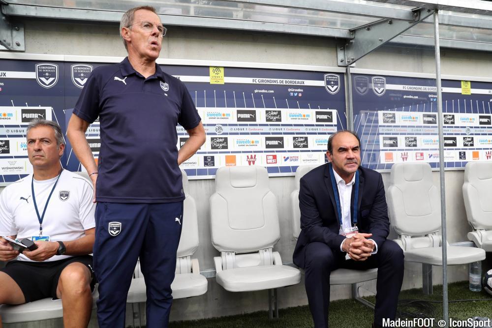 Le groupe des Girondins de Bordeaux pour le match face à l'OGC Nice.