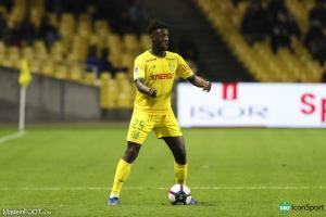Enock Kwateng quiterra le FC Nantes à la fin de la saison