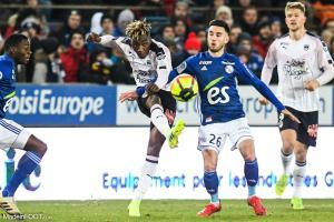 Strasbourg et Bordeaux se sont affrontés le week-end dernier.