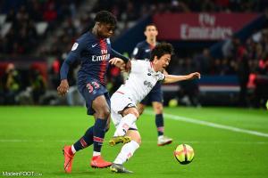 Loïc Mbe Soh, le jeune défenseur central du Paris Saint-Germain.