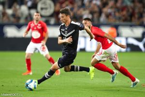 Laurent Koscielny, le défenseur central du FC Girondins de Bordeaux.