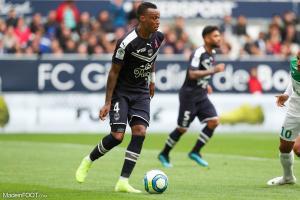 Edson Mexer, le défenseur central des Girondins de Bordeaux.