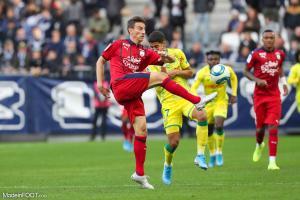 Les compos officielles du match entre les Girondins de Bordeaux et le FC Nantes.
