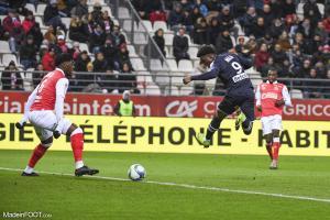 Josh Maja, le jeune attaquant des Girondins de Bordeaux.
