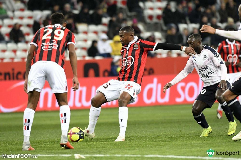 Wylan Cyprien n'entre plus dans les choix de Patrick Vieira à Nice